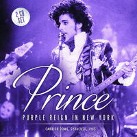 PRINCE CD x 2 Purple Reign In New York - Syracuse Carrier Dome 1985 Live NEW
