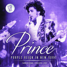 PRINCE CD x 2 Purple Reign In New York - Syracuse Carrier Dome 1985 Live SEALED