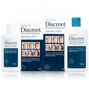 Restoria Discreet Colour Restoring Cream Leave-On Natural Look Grey Hair Cover