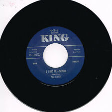 MAC CURTIS - IF I HAD ME A WOMAN / SAY SO (Hot 1950s ROCKABILLY) (New Repro)