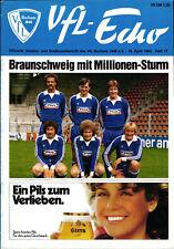BL 79/80 VfL Bochum - Eintracht Braunschweig, 18.04.1980, Jupp Tenhagen