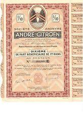 S.A. Andre Citroen  1937 Dixieme