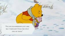 """Winnie the Pooh  Quote  refrigerator magnet 3 1/2 X 4 3/4 """""""