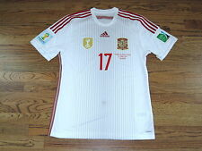 Koke Spain Atletico Madrid Shirt Jersey Player Issue Match Un Worn 2014 Adizero