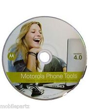 Genuine Motorola Phone Tools V4.0 Software Disk CD Rom for V3 V3i V3X V3M L7 U9