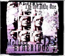 MELISSA ETHERIDGE - I'M THE ONLY ONE - 4 TRACK CD SINGLE