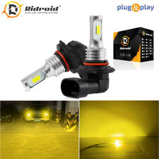 Pair Led Fog Light Bulbs 9145 9140 H10 Amber 3000k Yellow Driving Lamp Bulb Drl