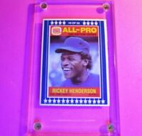 1987 Burger King MSA All-Pro 2nd Series #9 Rickey Henderson Yankees Rare