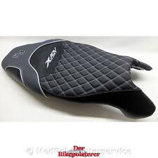 Honda  X-ADV - Komfort-Sitzbank: Gel-Einlage, Ziernähte, Stickerei, Rautenstepp