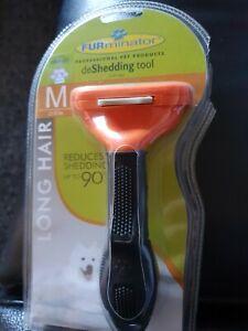 Furminator Deshedding Tool Grooming Small Large Cats Dogs Pet Brush Rake Comb