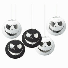 Nightmare Before Christmas Hanging Lanterns Halloween Party Decoration Skeleton