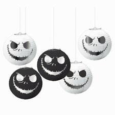 NIGHTMARE BEFORE CHRISTMAS HANGING LANTERNS Halloween Party Decoration Skeleton