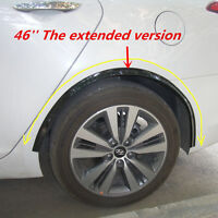 2X117cm SOFT RUBBER BLACK WHEEL ARCH GUARD TRIM / WHEEL ARCH PROTECTOR UNIVERSAL