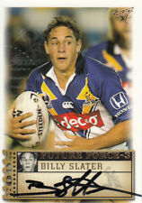 2003 NRL SELECT XL FUTURE FORCE SIGNATURE CARD - FF35 BILLY SLATER STORM #453