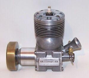 Vintage 1948 Dooling .61 Nitro Gas Powered Tether Car Engine W/Flywheel