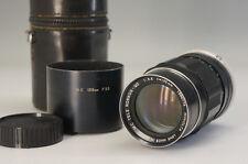 MINOLTA Camera Lens MC TELE ROKKOR-QD 1:3.5 f=135mm w/case AS-IS F/S 942f02