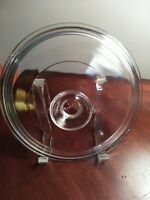 "corning ware clear glass 8"" lid only pyrex #24"