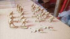 AIRFIX? 1/32 BRITISH DESERT SOLDIERS WW2 SOLDIERS LARGE LOT