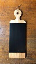 Handmade Paddle Chalkboard Wood Blackboard Kitchen Chalkboard Wedding Menu