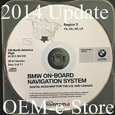 2000 to 2004 Range Rover VW Phaeton BMW Navigation CD Map #3 Cover TX OK AR LA