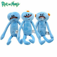Rick and Morty Sad Meeseeks Mr. Meeseeks 35cm Plush Toy Set of 3 Melbourne Stock