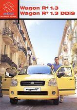 Suzuki Wagon R+ 1.3 + DDiS Prospekt 2003 9/03 Autoprospekt brochure prospectus