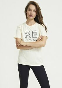 PE NATION HEADS UP TEE - ANTIQUE WHITE - RRP £80.00