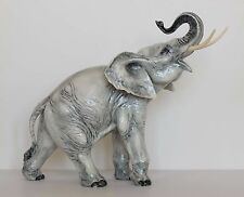 Vintage Large CERAMIC ELEPHANT FIGURINE Giuseppe Granello / Guido Cacciapuoti