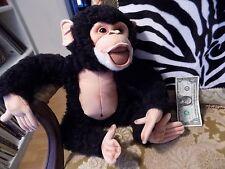 """Discovery Channel Chimpanzee Chimp Monkey Plush Jumbo 16"""" Life Like Ape"""