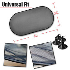 Auto Car Rear Window Sunshade Cover Visor Mesh Shield UV Block Protect Lasting