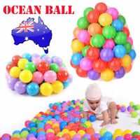 50 Pcs Soft Ocean 5.5cm Plastic Balls Kids Swim Baby Play Pool Pit Ball Toy