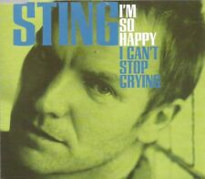 Sting - I'm So Happy I Can't Stop Crying 1996 CD single