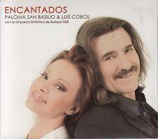 Paloma San Basilio y Luis Cobos Encantados Con La Orquesta CD+DVD New