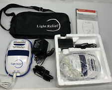 2 New Light Relief LR150 Infrared Therapy Device For Muscle,Joint,Stiffness Pain