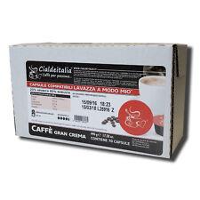 210 capsule caffè Cialdeitalia GRANCREMA compatibile con LAVAZZA A MODO MIO