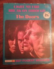 Vintage The Doors HIP-POCKET RECORDS 45 RPM Small Record