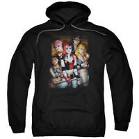 BATMAN HARLEY QUINN BAD GIRLS Licensed Adult Hooded Sweatshirt Hoodie SM-3XL