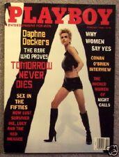 Playboy Magazine February 1998 Daphne Deckers