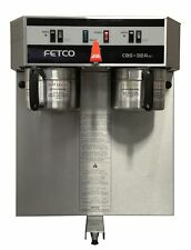 Fetco CBS 32Aap Dual Automatic Airpot Brewer w/ faucet 220V