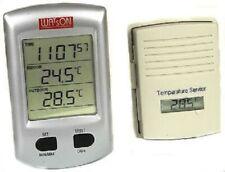 Estación Meteorológica Inalámbrica W8684 interior al aire libre Termómetro y Reloj