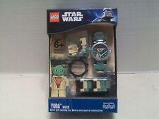 Lego #9002069 Star Wars Yoda Watch With Building Toy Rare Hard To Find NIB 2011!