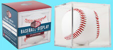 BALLQUBE GRANDSTAND BASEBALL DISPLAY CASE w/ Stand NEW MLB Holder Stackable Cube