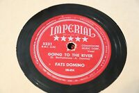 VINTAGE FATS DOMINO Going to the River / Mardi Gras 78rpm IMPERIAL 5231 R&B Rock