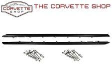 C4 Corvette Outer Door Seals Left & Right Side w/ Rivets 1984-1996 X2177