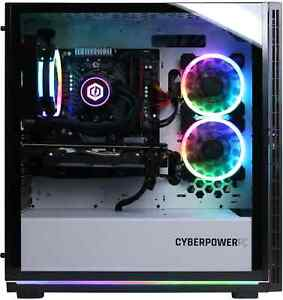 CyberPowerPC Gaming  Computer Ryzen 7 3700X 16GB RTX 2070 Super 240GB SSD 2TB HD