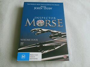 Inspector Morse Volume 4 DVD