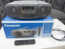 Panasonic RX-D50 EG-S CD Radio Cassetten Recorder Kassetten Rekorder CD MP3 silb