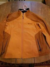 Marmot Men's Jacket Size L or XL,Rust - Softshell Windstopper Fleece