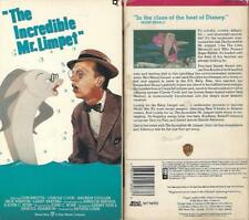 VHS: THE INCREDIBLE MR. LIMPET.....DON KNOTTS-CAZOLE COOK