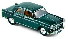 Peugeot 404 berline 1961 vert antique - Norev - Echelle 1/87 (Ho)